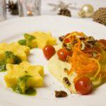 Polenta with cream